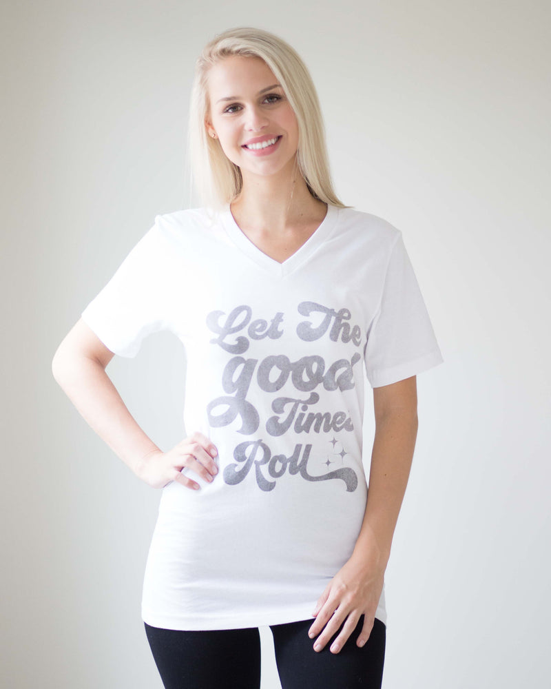 """Let The Good Times Roll"" Tee"