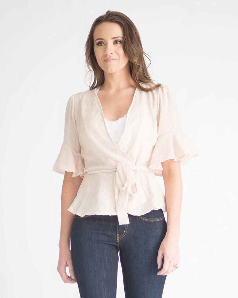 Isabelle Wrap Top