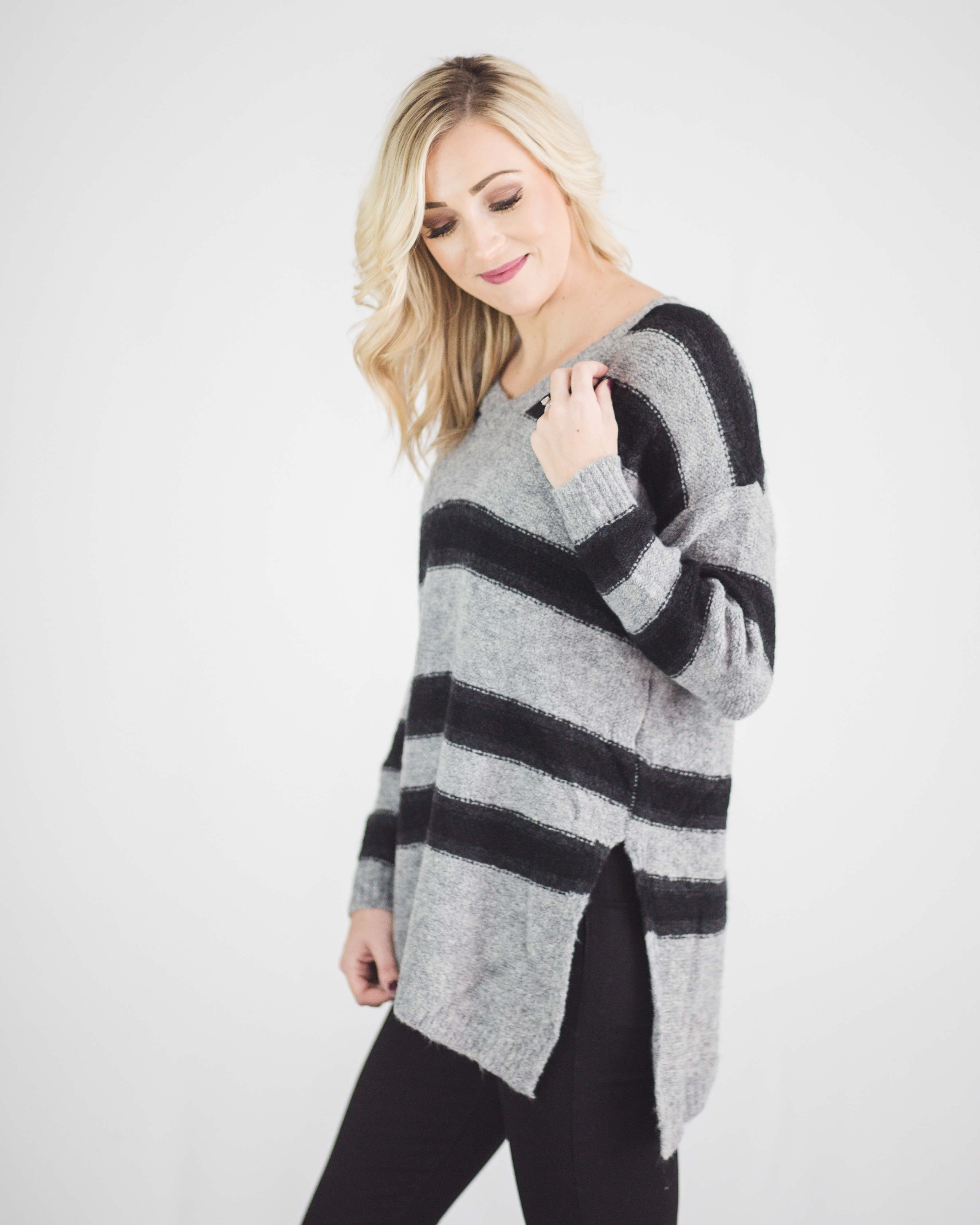 Linda Striped Sweater