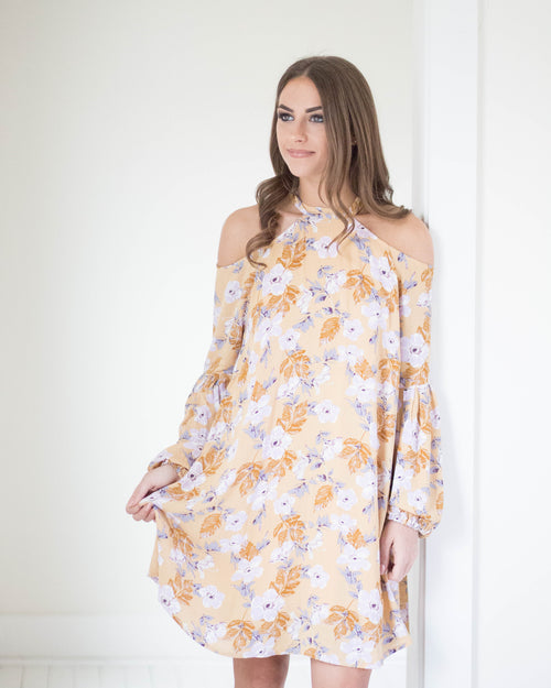 Marigold Flow Dress