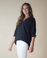Lola Scalloped Trim Top