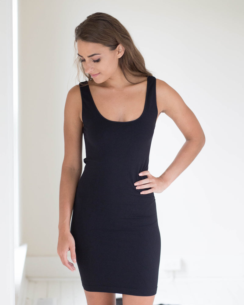 Perfect Fit Layering Dress-Thick Strap | Rose & Remington