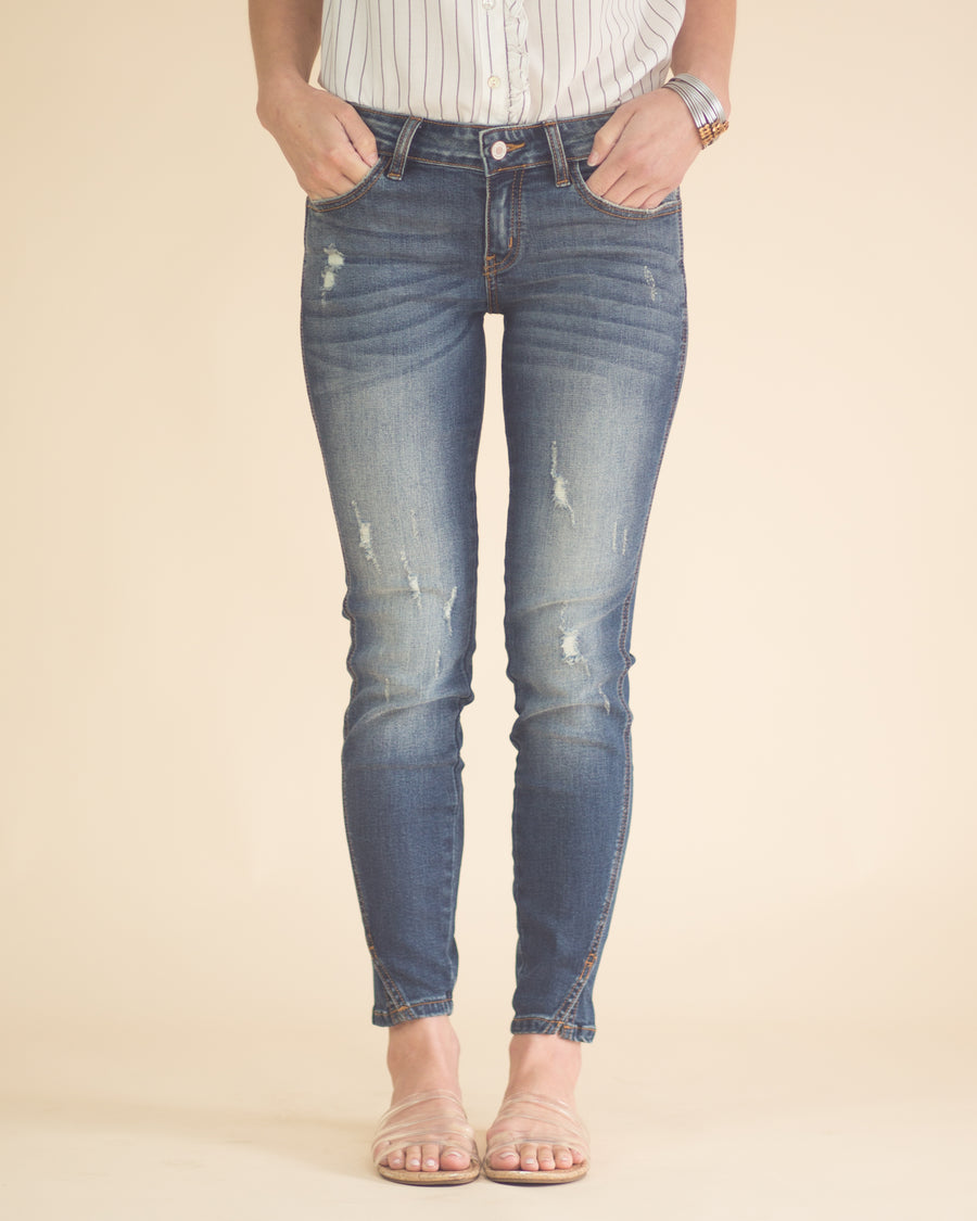 Nia Low Rise Skinny Jeans