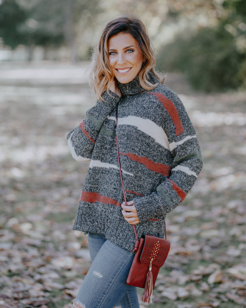 Emily Turtleneck Pullover Sweater