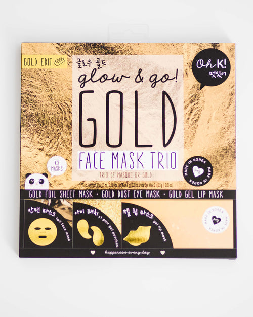 Ultimate Gold Foil Trio