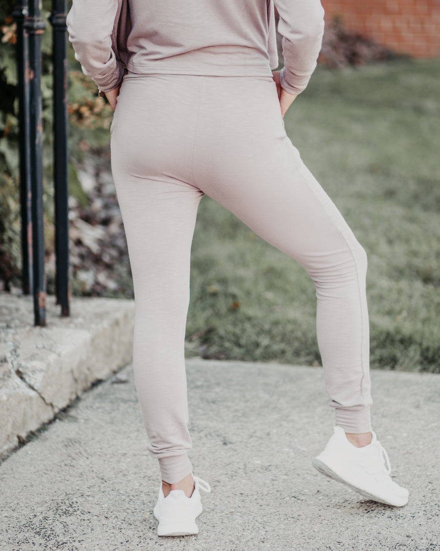 Nia Slim Fit Cuffed Joggers