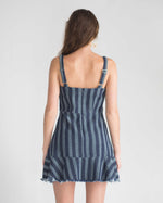 Sadie Striped Denim Dress