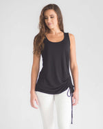 Side Tie Sleeveless Top