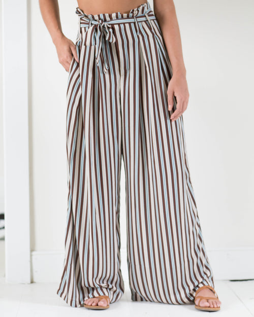 Liv High Rise Striped Pants | Rose & Remington