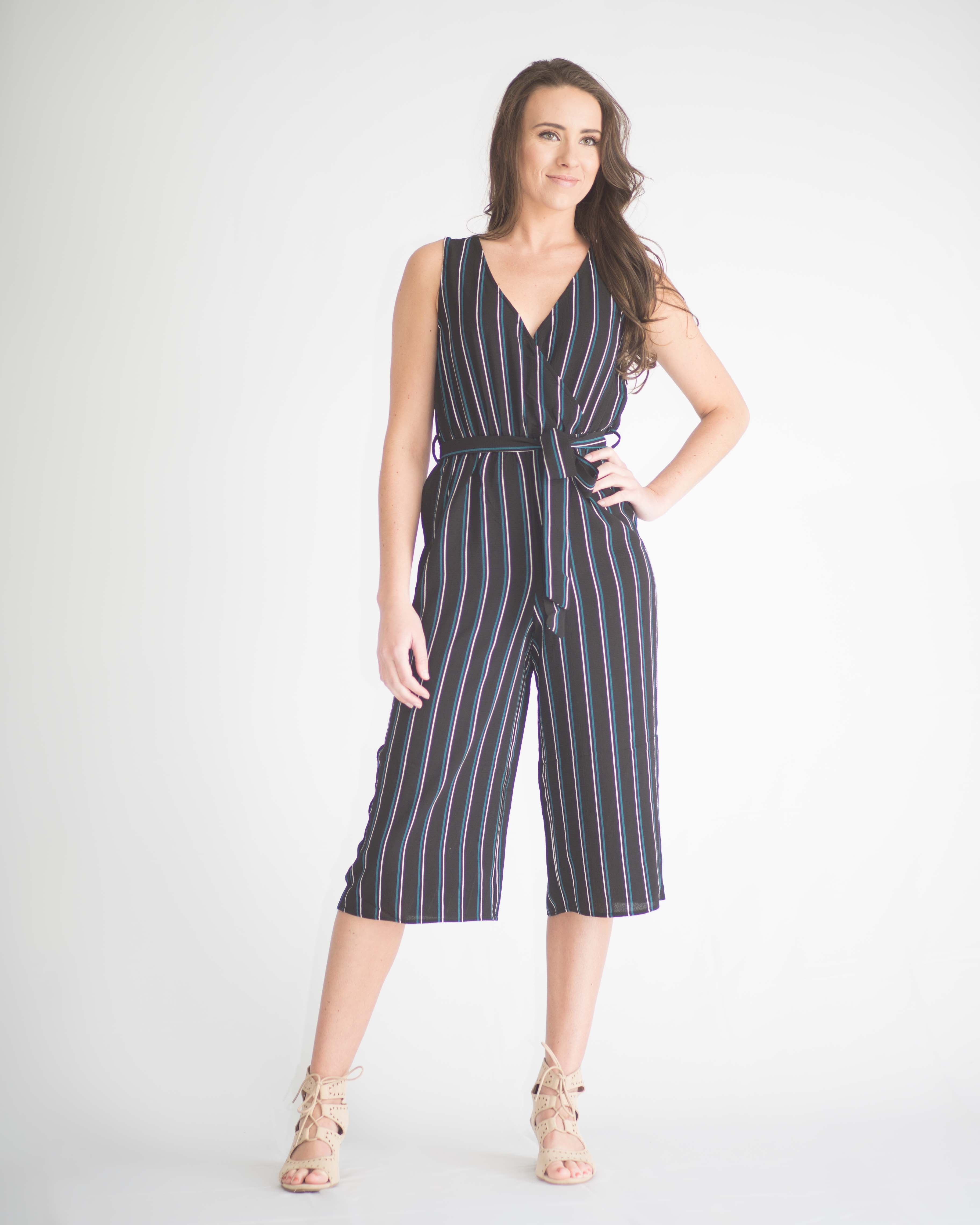 Emma Cropped Jumpsuit