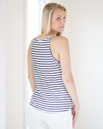 Beachwood Tie Front Tank | Rose & Remington