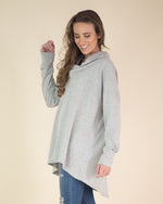 Loose Fit Cowl Neck Tunic