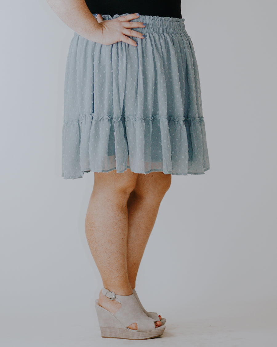 Isabelle Swiss Dot Skirt
