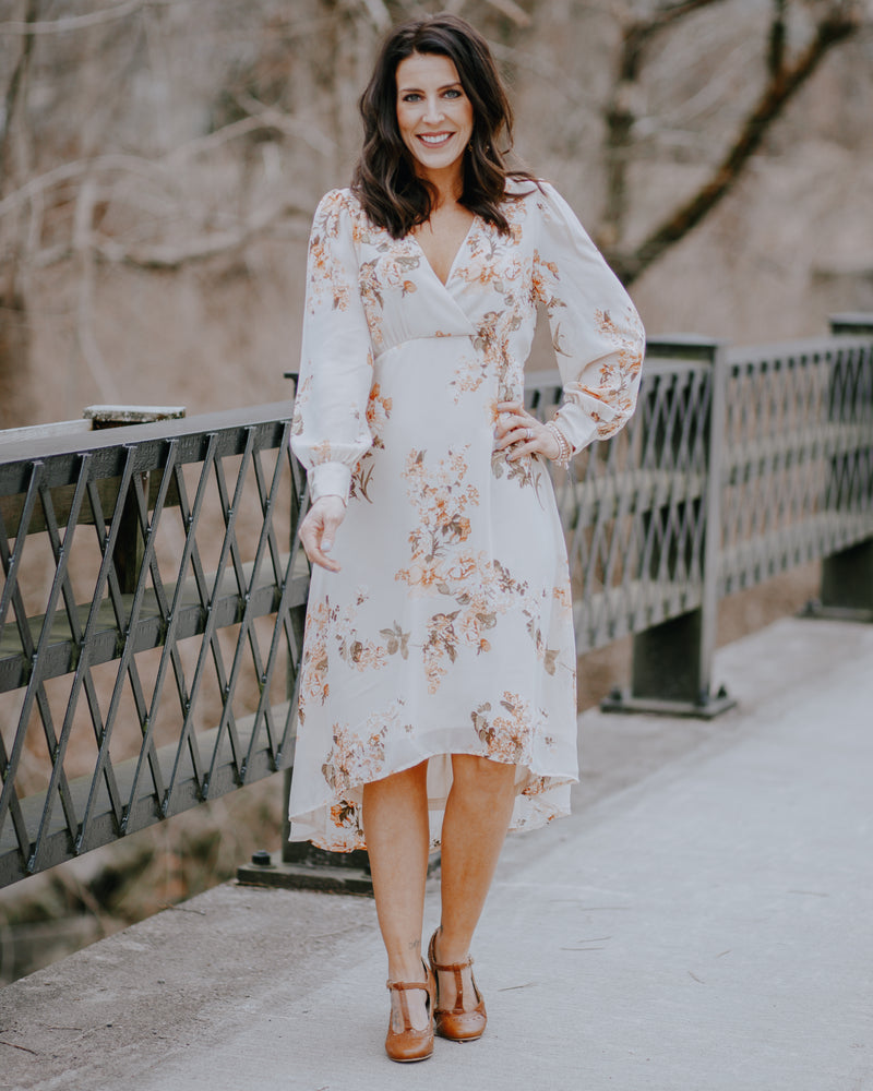 Juliette Floral Midi Dress
