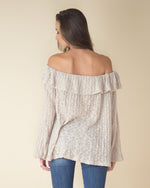 Grace Ruffled Off The Shoulder Top
