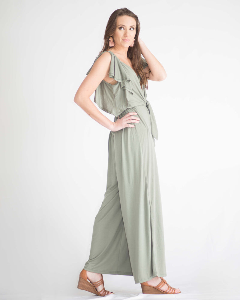 Willow Tie Front Jumpsuit