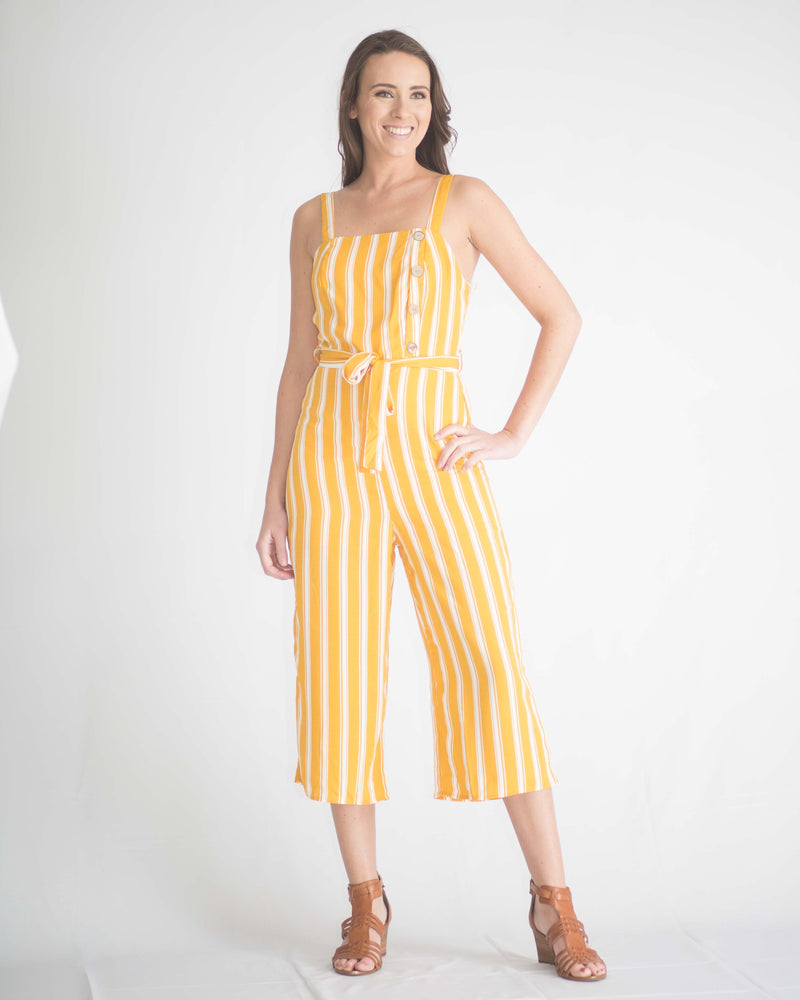 Hayden Striped Jumpsuit