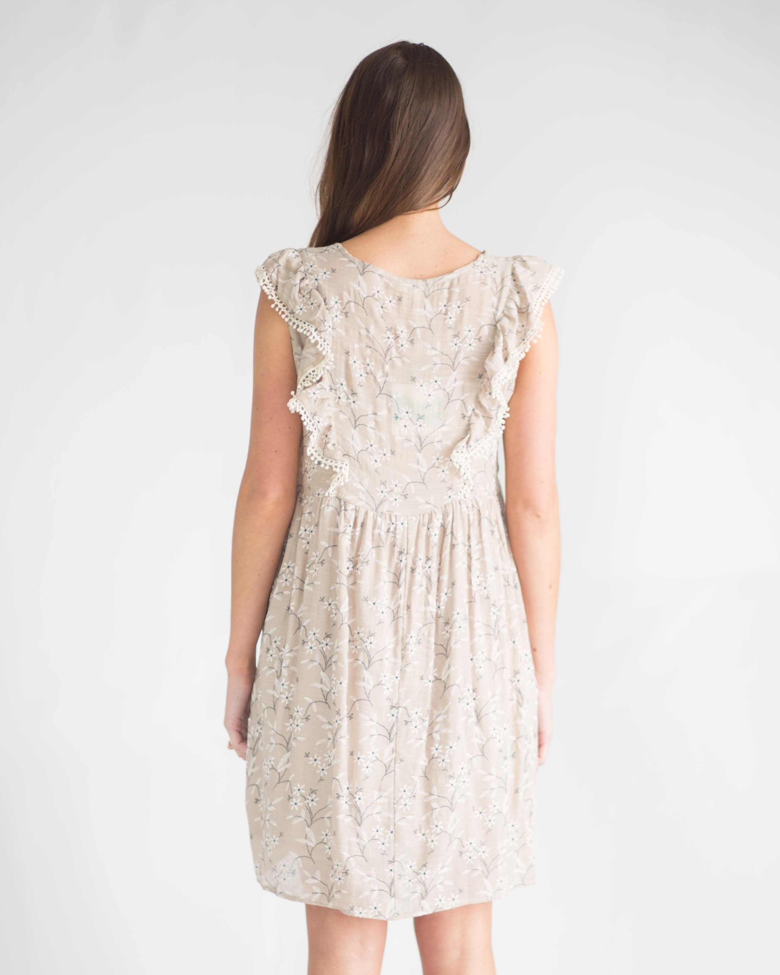 Camilla Floral Embroidered Dress