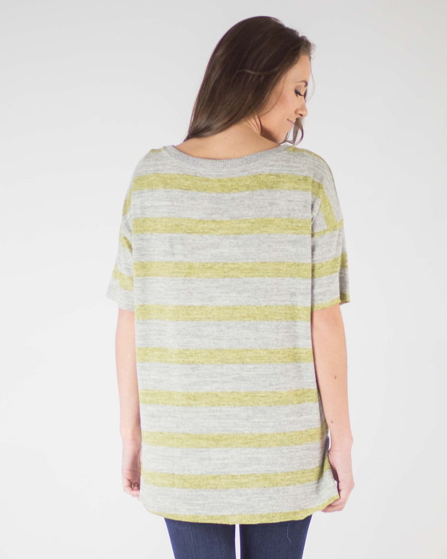Verona Knit Pocket Tee