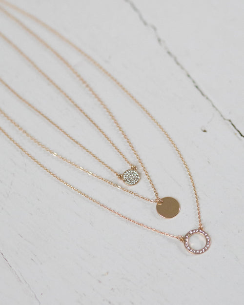 Multi-Layer Classic Circle Necklace | Rose & Remington