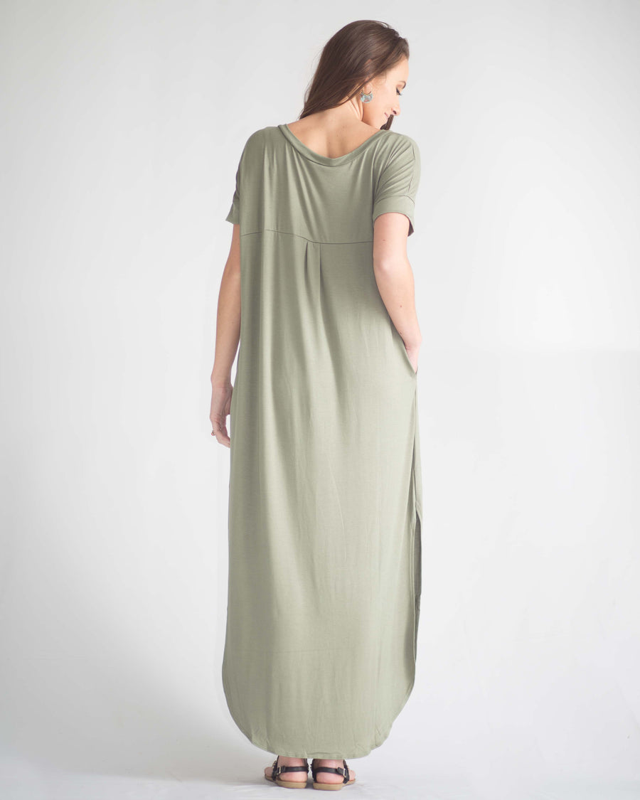 Stella Pocketed Tee Dress