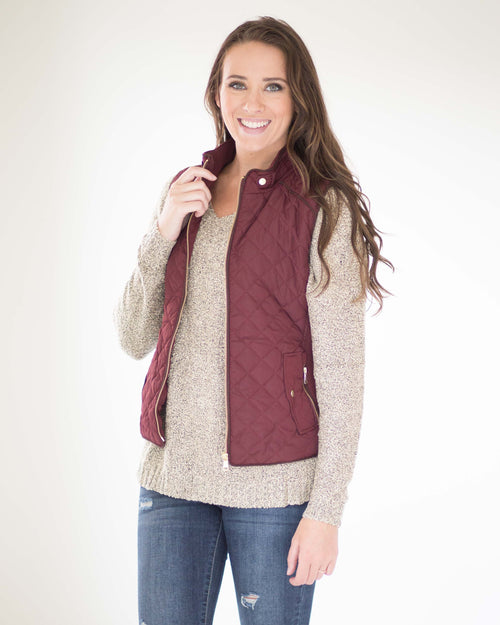Lexington Quilted Vest