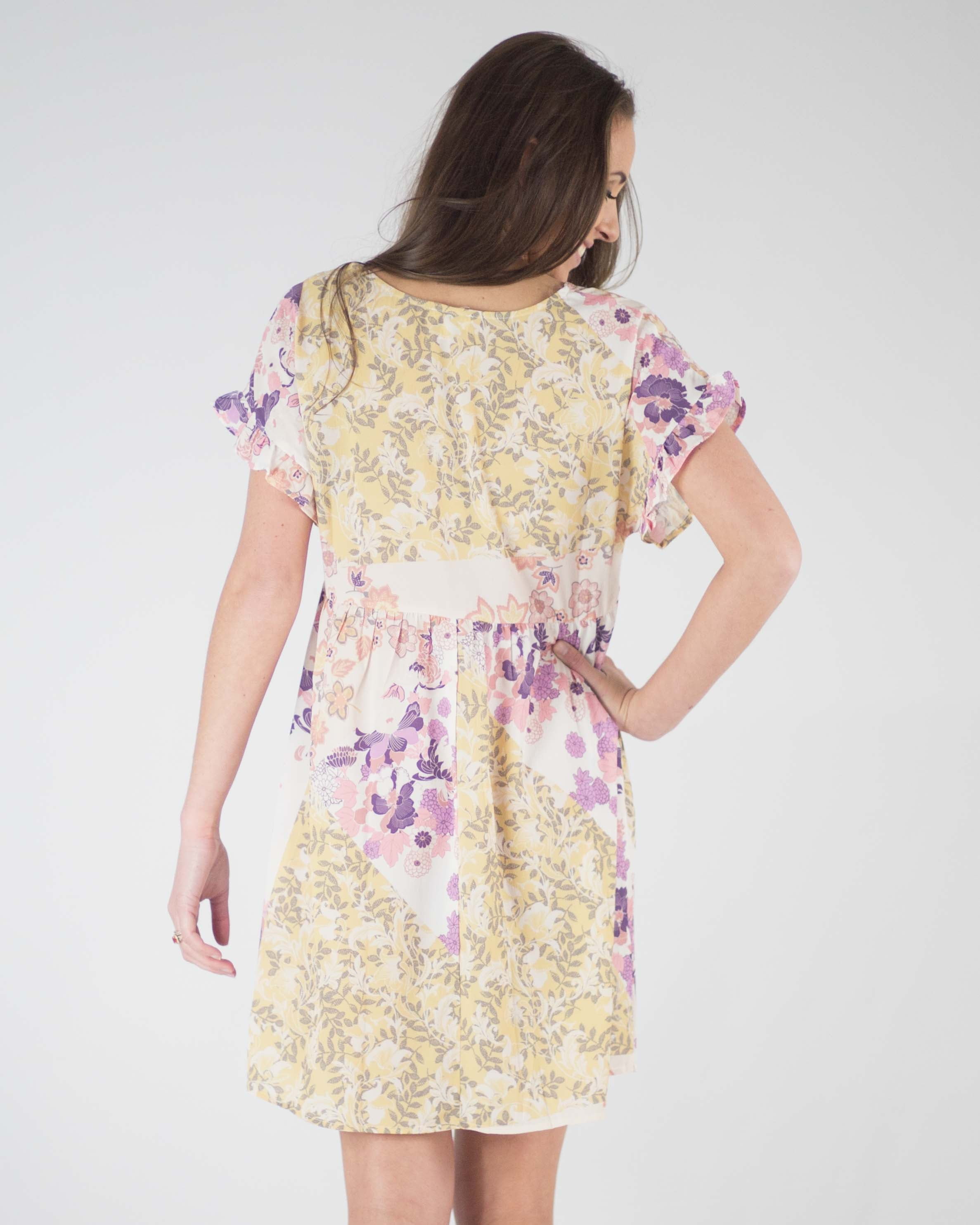 Kinsley Floral Babydoll Dress