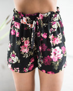 Floral High Waisted Short