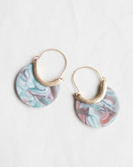 Mint Retro Earrings