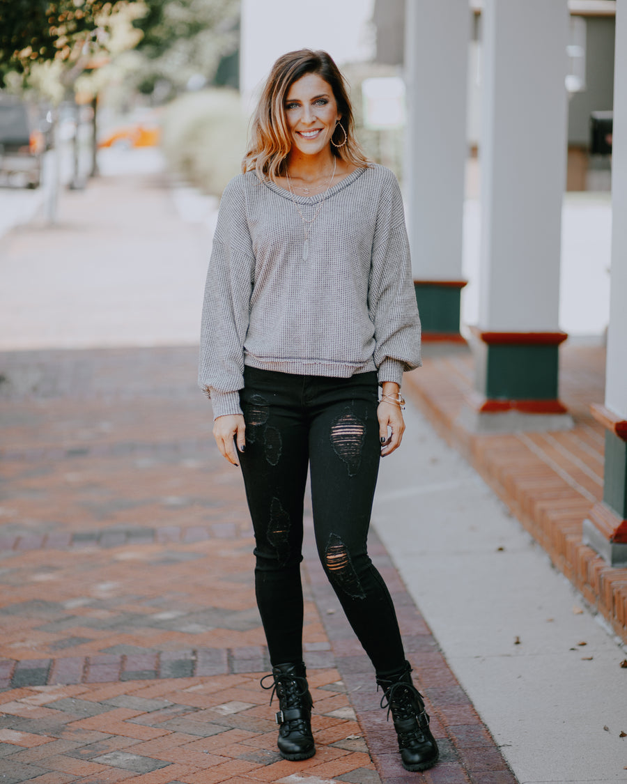 Aspen Knit Cropped Sweater