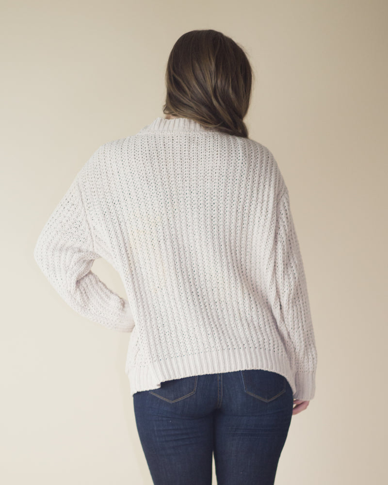 Boyfriend Fit Soft Knit Cardigan