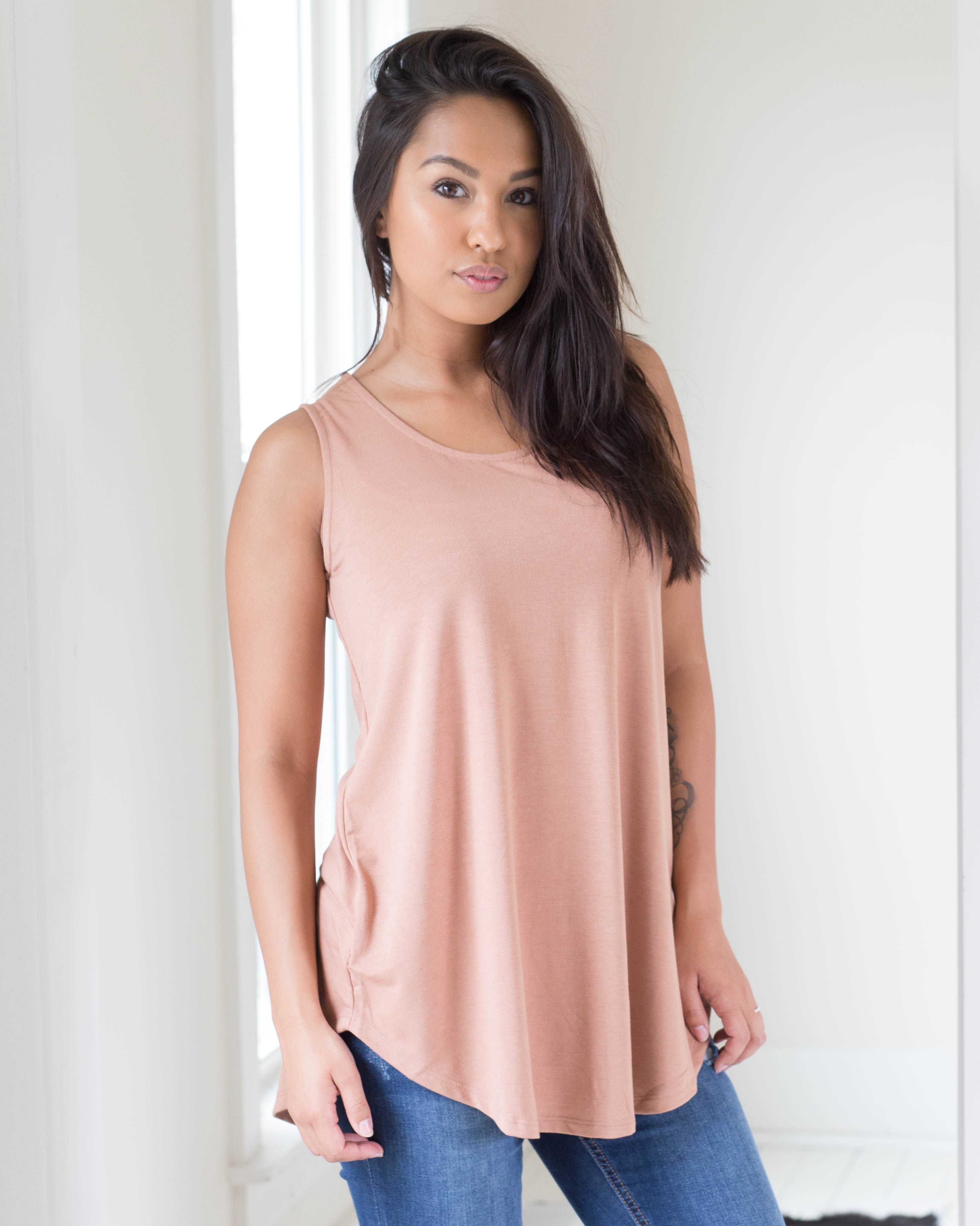 Jules Soft Touch Sleeveless Top | Rose & Remington