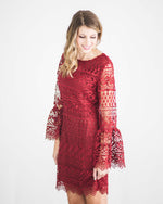 Kimberly Crochet Lace Dress