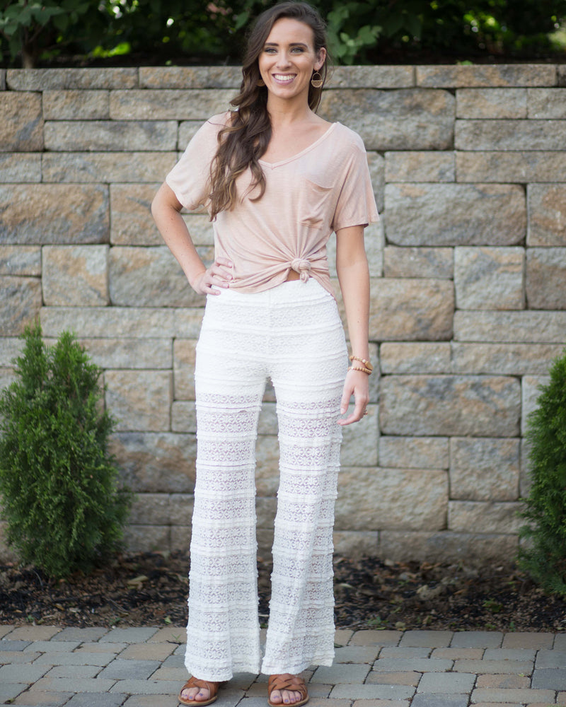 Everly Lace Boho Pants