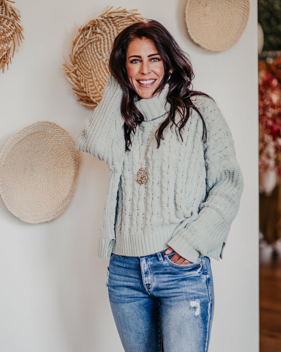 Amanda Turtleneck Sweater