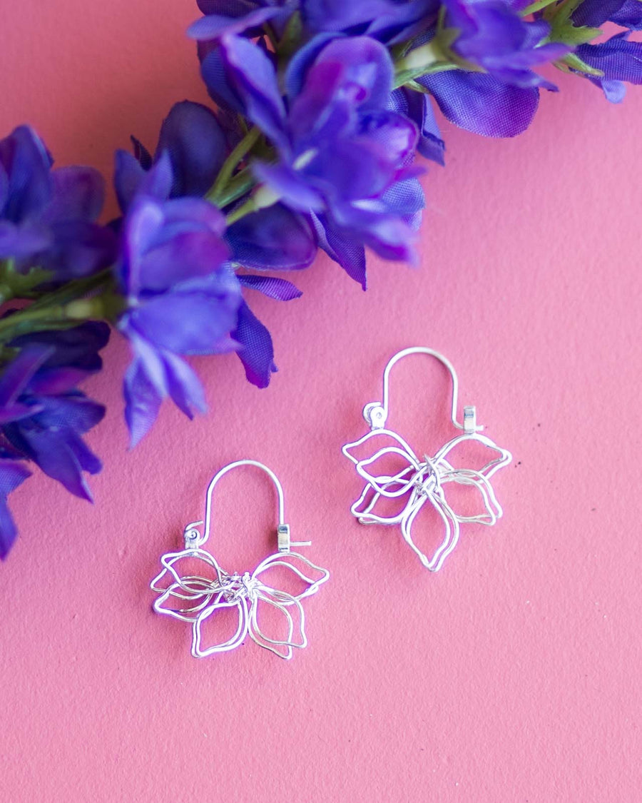 Lily Drop Earrings