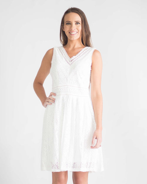 Lacey Fit and Flare Dress