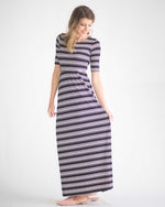 Erin Striped Maxi Dress