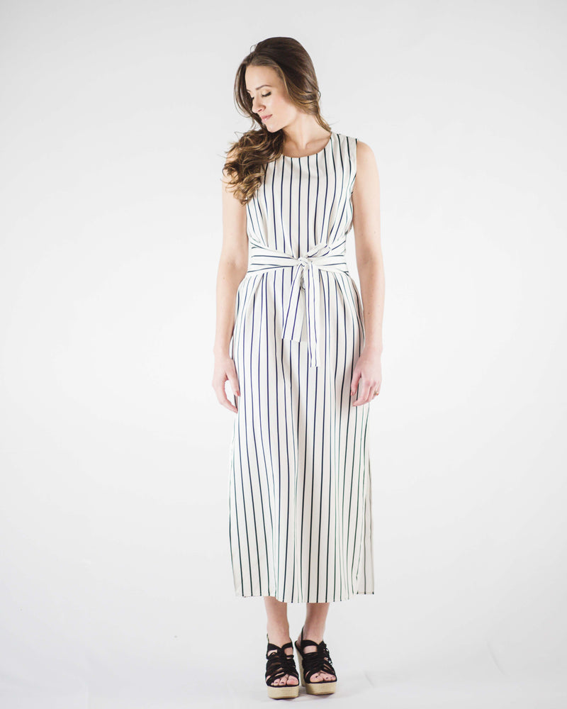 Coastal Waist Tie Dress