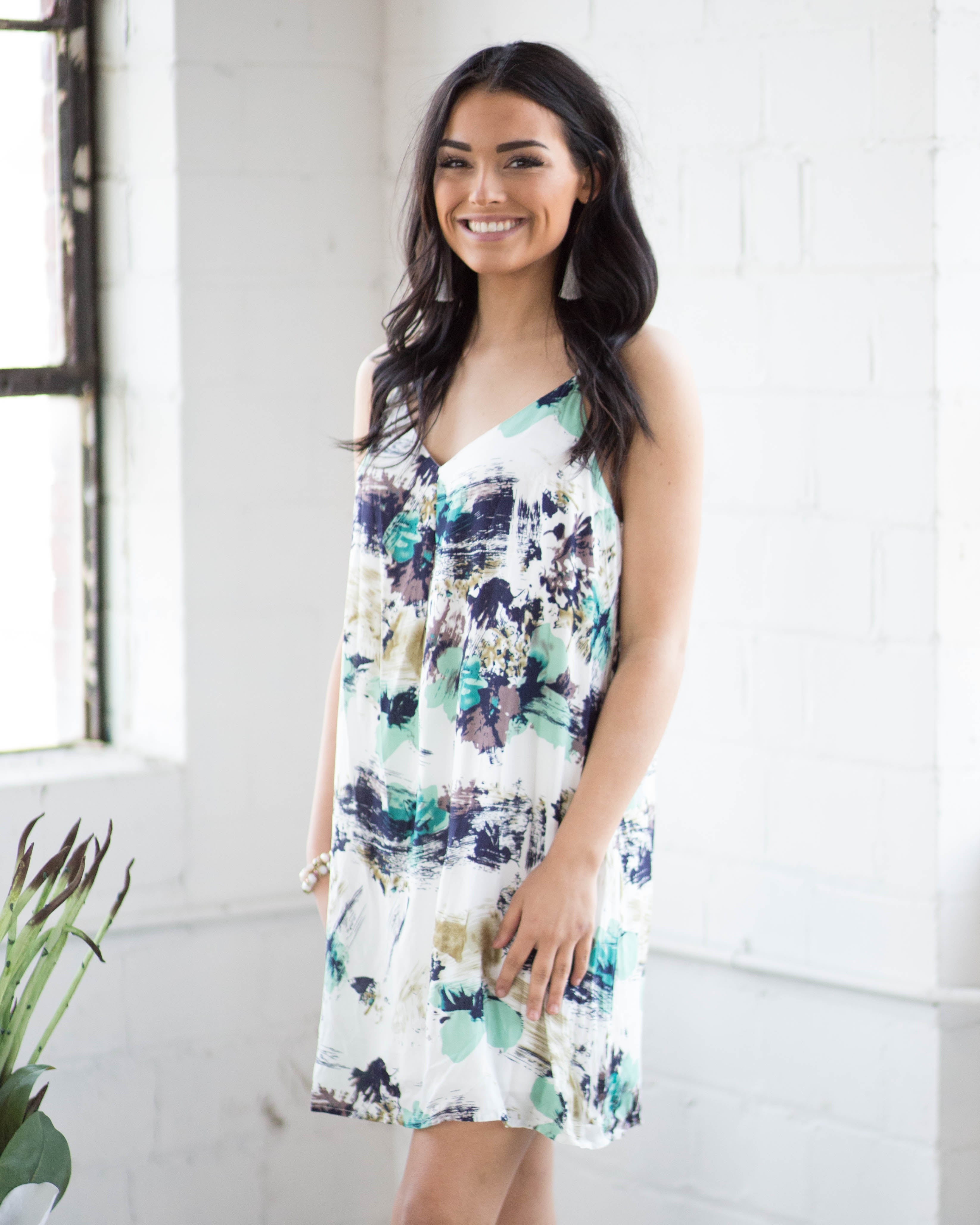 Camellia Slip Dress | Rose & Remington