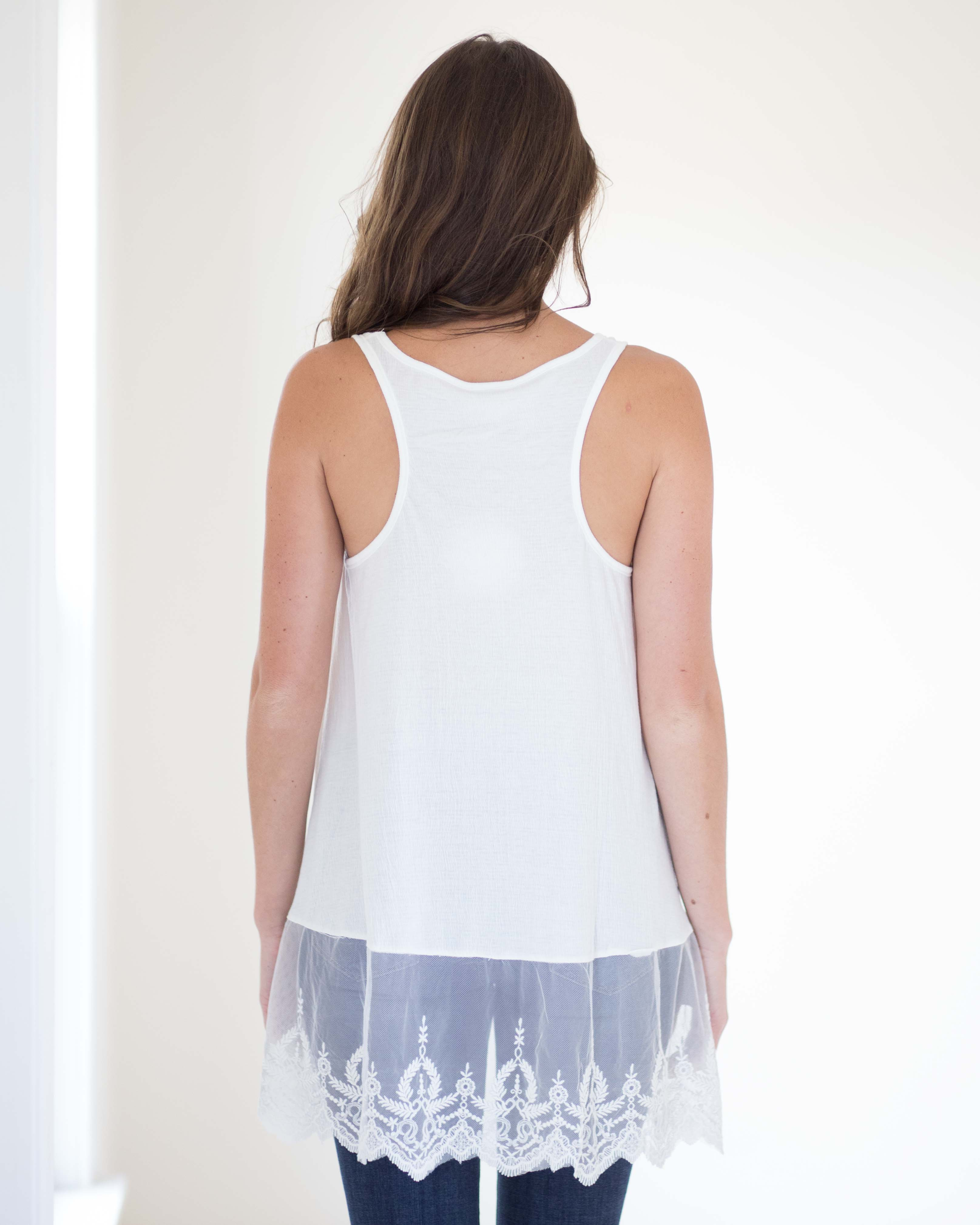 Lucy Layering Lace Tank
