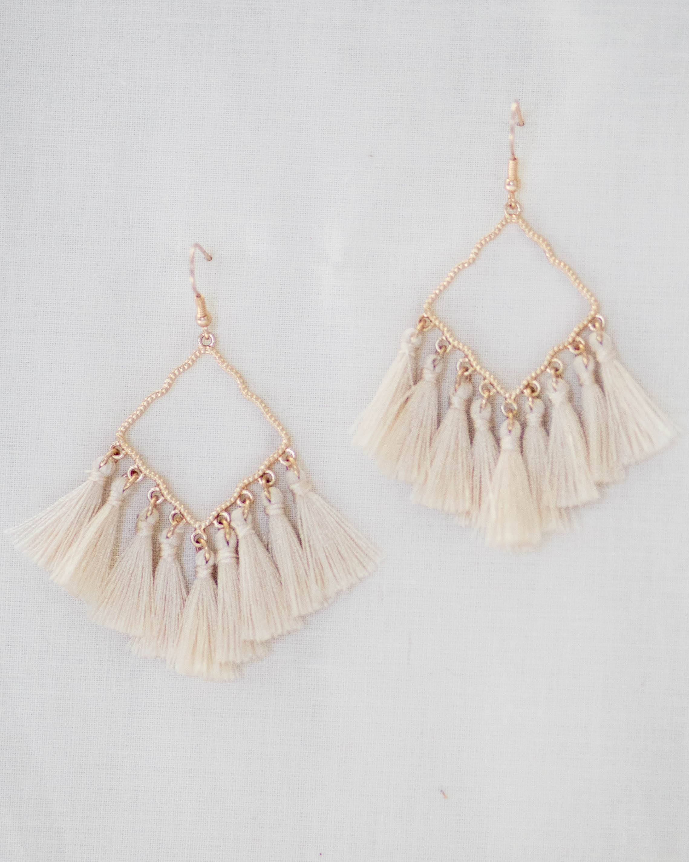 Diamond Tassel Earrings | Rose & Remington