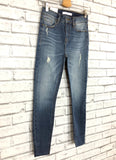 clara high rise skinny crop