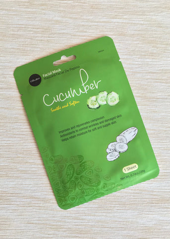 celavi cucumber facial mask
