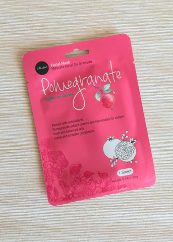celavi pomegranate facial mask