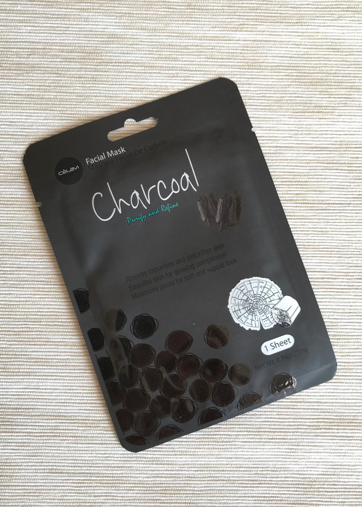 celavi charcoal facial mask