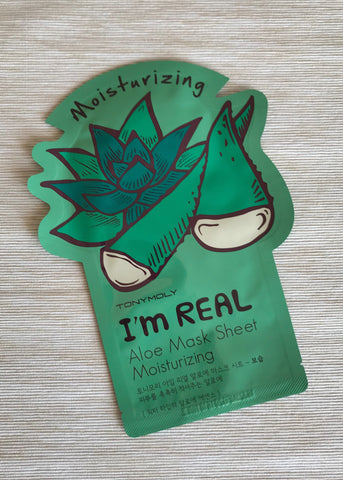 moisturizing aloe mask sheet