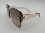 After hours square sunglasses