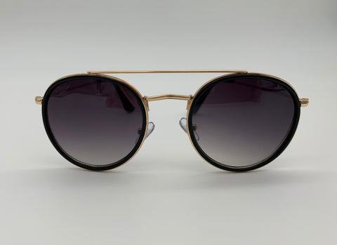 Cutout aviator sunglasses