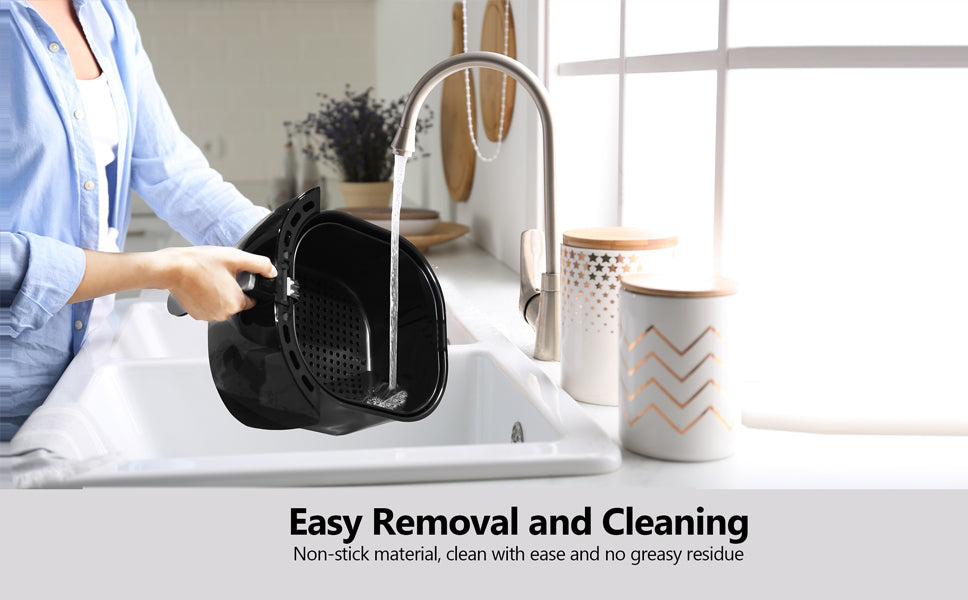 removable & easy clean air fryer
